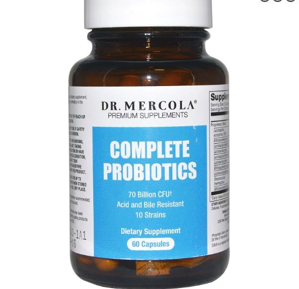 kaufen dr mercola vollst ndig probiotika 60 kapseln probiotics. Black Bedroom Furniture Sets. Home Design Ideas