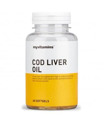 Cod Liver Oil (60 Softgels) - Myvitamins