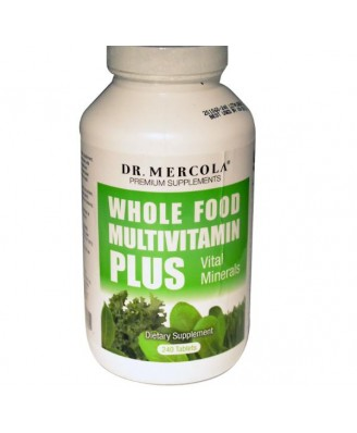 Mercola Whole Foods Multivitamin PLUS (240 Tablets)