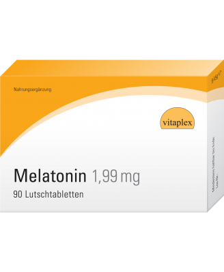 Melatonin 1,99 mg (90 Lozenges with orange flavor) - Vitaplex