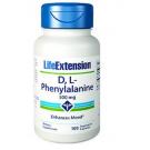 D,L-Phenylalanin Kapseln, 500 Mg - 100 Vegetarische Kapseln - Life Extension