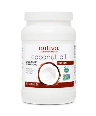Nutiva Organic Extra Virgin Coconut Oil - 444ml