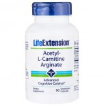 Acetyl-L-Carnitine Arginate (90 Veggie Capsules) - Life Extension