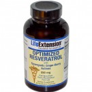 Life Extension, Optimized Resveratrol, with Synergistic Grape-Berry Actives, 250 mg, 60 Veggie Caps