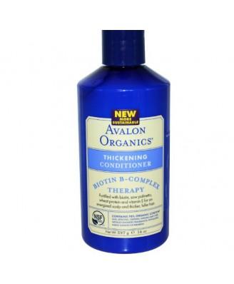 Avalon Organics Thickening Conditioner Biotin B-Complex Therapy - 14 fl oz