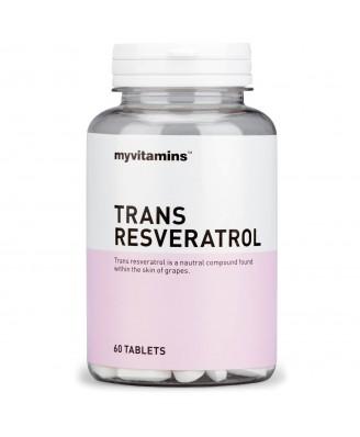 Myvitamins Trans Resveratrol, 180 Tablets (180 Tablets) - Myvitamins