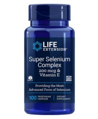 Super Selenium Complex (100 Veggie Caps) - Life Extension