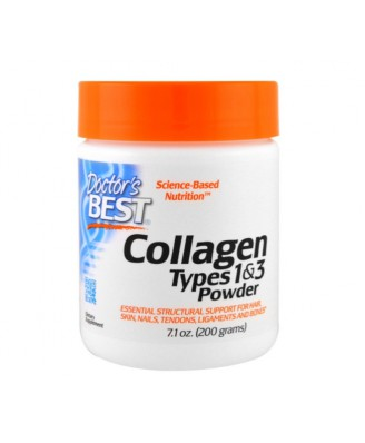 Best Collagen Types 1 & 3 Powder (200 g) - Doctor's Best