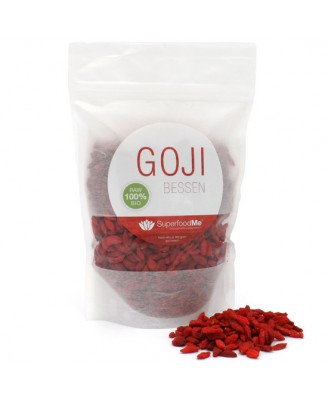 Organic Goji Berries (300 gram) - Superfoodme