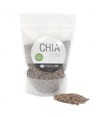 Organic Chia Seeds (500 grams) - Superfoodme
