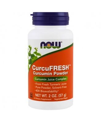 CurcuFresh Curcumin Powder (57 gram) - Now Foods