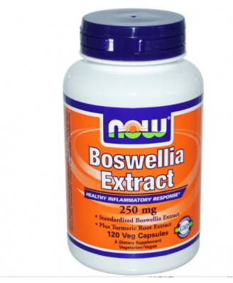 Boswellia Extrakt 250 mg (120 Veg Caps) - Now Foods