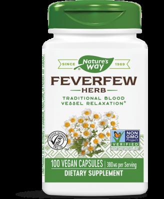 Moederkruid Bladeren, 380 mg (180 Capsules) - Nature's Way