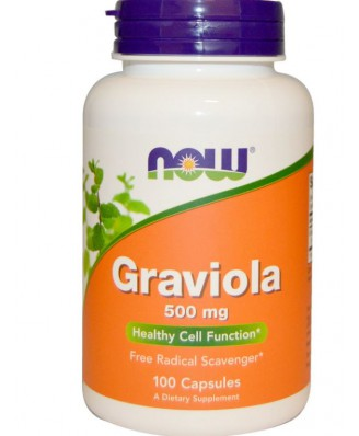 Graviola 500 mg (100 Capsules) - Now Foods