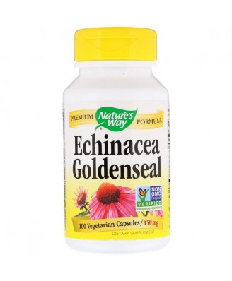 Nature's Way, Echinacea Goldenseal, 450 mg, 100 Capsules