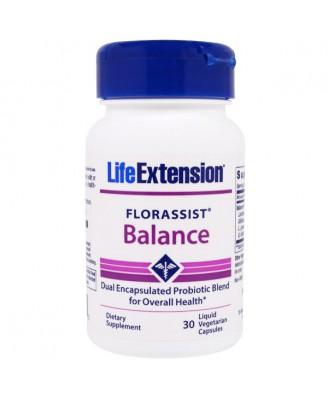 FlorAssist Balance (30 Liquid Veggie Caps ) - Life Extension