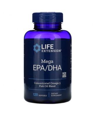Omega Foundations Mega EPA/DHA (120 Softgels) - Life Extension