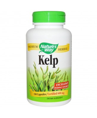 Nature's Way, Kelp, 600 mg, 180 Capsules
