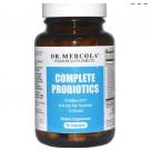 Dr. Mercola, Complete Probiotika, 10 Stämme, 60 Kapseln