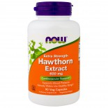 Hawthorn Extract - Extra Strength 600 mg (90 Vegetarian Capsules) - Now Foods
