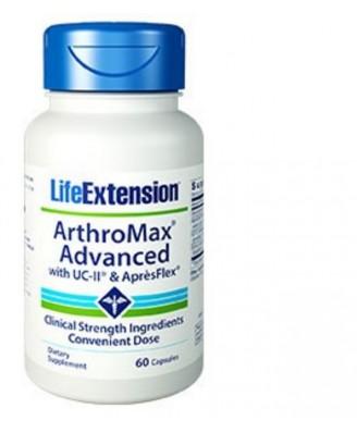 Arthromax® Advanced Mit Uc-Ii & Aprèsflex - 60 Kapseln - Life Extension