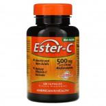 Ester-C with Citrus Bioflavonoids 500 mg (120 Capsules) - American Health