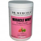 Dr. Mercola, Premium Supplements, Miracle Whey, Protein Powder, Strawberry, 1 lb (454g)