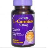 Natrol, L-Carnitine, 500 mg, 30 Capsules