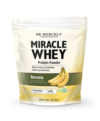 Miracle Whey Banana (454 gram) - Dr. Mercola