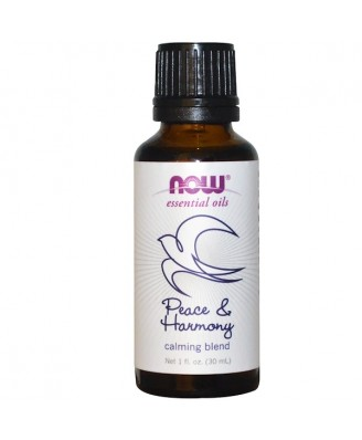 Essential Oils - Peace & Harmony (30 ml) - Now Foods