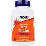 Dry E-400 Vegetarian (100 Vegetarian Capsules) - Now Foods