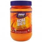 BCAA Big 6- Natural Watermelon Flavor (600 gram) - Now Foods