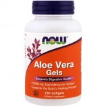 Aloe Vera Gels (250 softgels) - Now Foods