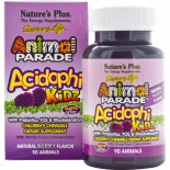 AcidophiKidz, Children's Chewable, Natural Berry (90 Animals) - Nature's Plus