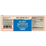 Melatonin Sleep Support Raspberry Flavor (25 ml) - Dr. Mercola