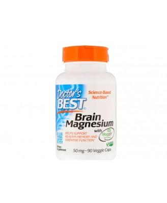 Doctor's Best, Best Brain Magnesium, 75 mg, 60 Veggie Caps