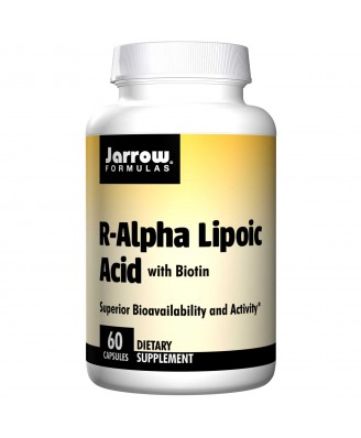R-Alpha Lipoic Acid with Biotin (60 Capsules) - Jarrow Formulas