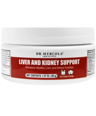 Liver and Kidney Support for Pets (39 g) - Dr. Mercola