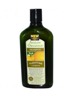 Avalon Organics, Shampoo Lemon (325 ml)