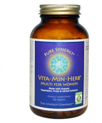 Vita·Min·Herb Multi for Women (120 Tablets) - The Synergy Company