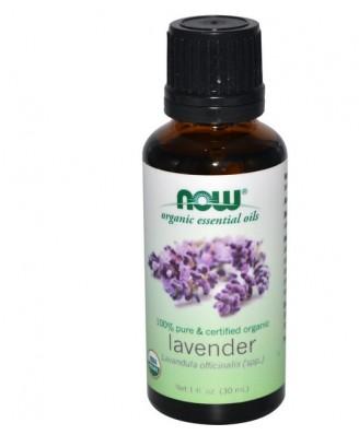 Organic Essential Oils Lavender (30 ml) - Now Foods