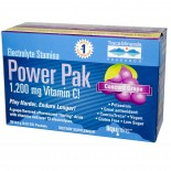 Electrolyte Stamina Power Pak, Concord Grape (32 Packets, 6.2 g Each) - Trace Minerals Research