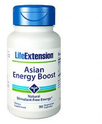 Asian Energy Boost - 90 Vegetarische Kapseln - Life Extension