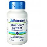 Blaubeerextrakt Mit Granatapfel - 60 Vegetarische Kapseln - Life Extension