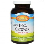 Carlson Labs, Super Beta•Carotene, 25,000 IU [16 mg], 250 Soft Gels