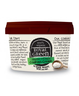 Royal Green Bio Coconut Cooking Cream (250 ml)