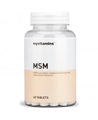 Myvitamins MSM, 60 Tablets (60 Tablets) - Myvitamins