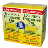 American Health, Royal Brittany, Evening Primrose Oil, 500 mg, 2 Bottles, 200 Softgels Each
