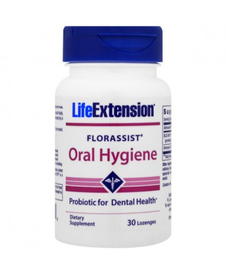 Florassist Oral Hygiene (30 Lozenges ) - Life Extension