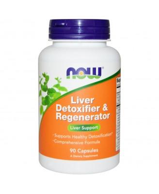 Now Foods, Liver Detoxifier & Regenerator, 90 Capsules